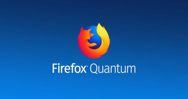 En mükemmel tarayıcı Firefox Quantum