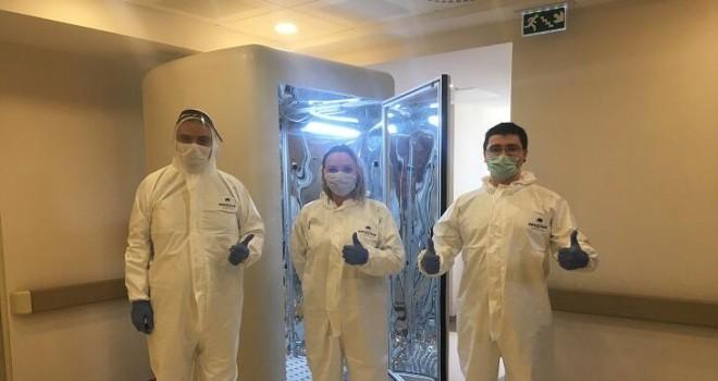 Koronavirüs bulaşmasından koruyan kabin geliştirildi