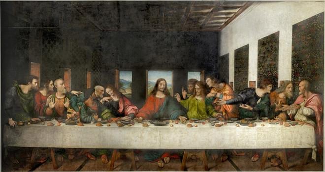 Da Vinci'nin 'Son Akşam Yemeği' İstanbul'daydı