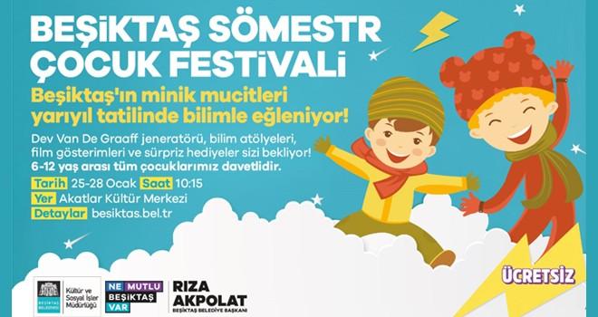 Sömestr Çocuk Festivali başlıyor