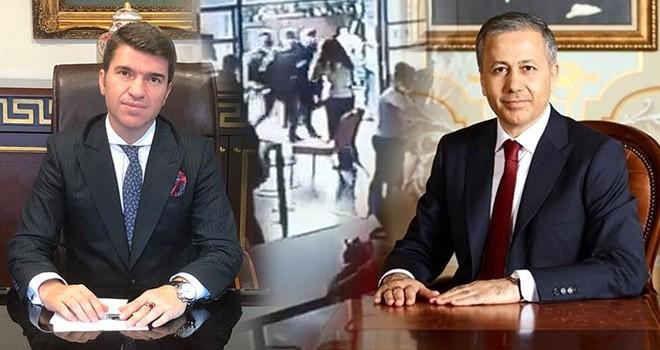 İstanbul Valisi Ali Yerlikaya'dan Beşiktaş Kaymakamı Önder Bakan'a tebrik