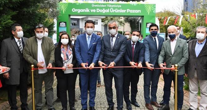 Organik ve doğal ürünler pazarı açıldı