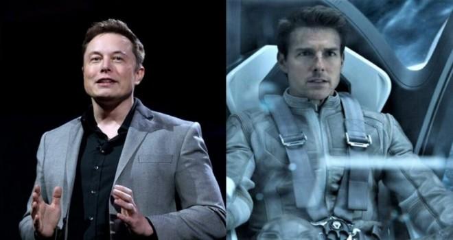 Elon Musk'ın Tom Cruise ile olan yeni uzay projesi