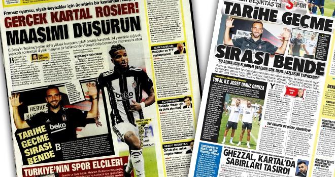 Günün Beşiktaş manşetleri (16 Temmuz)