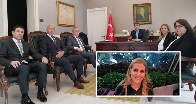 Beşiktaş'ta muhtarlar yeni başkanını ve yönetimini seçti. Kaymakan Önder Bakan ve Emniyet Müdürü Ercan Çamırcı'yı ziyaret ettiler