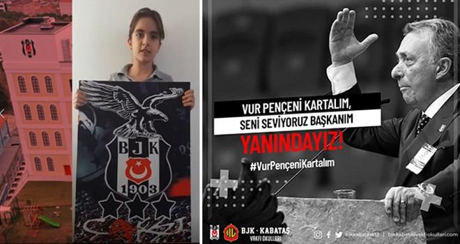 Öğrencilerden Ahmet Nur Çebi'ye moral videosu