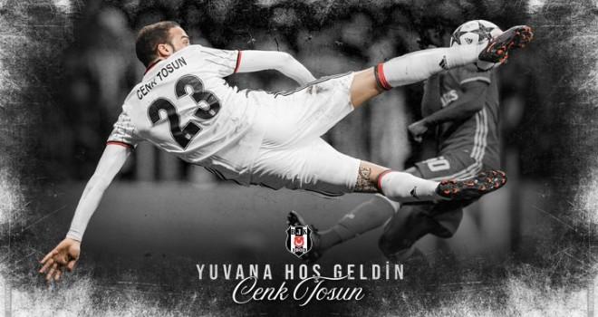 Cenk Tosun Beşiktaş'ta