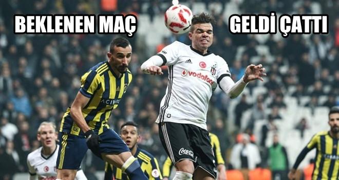 Kıran kırana kupa derbisi Fenerbahçe-Beşiktaş