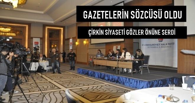 Gazeteci İsmail Baştuğ CHP toplantısı çirkin siyasete cevap