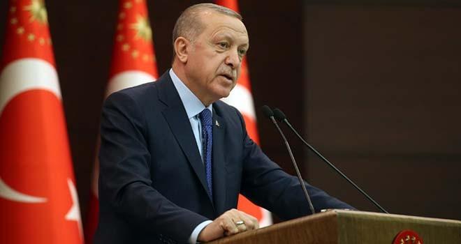 Cumhurbaşkanı Erdoğan'dan 100 milyar TL'lik Corona paketi