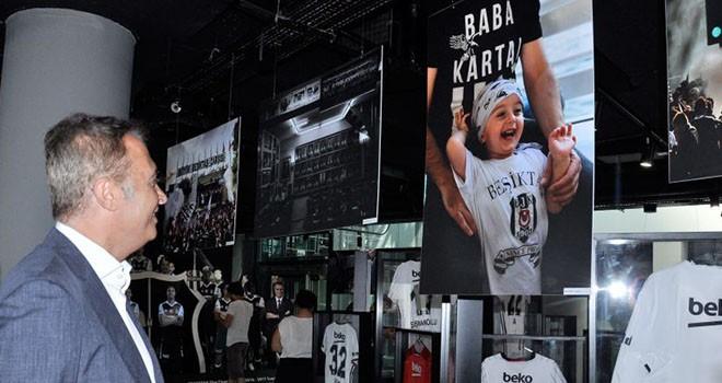 'Karakartal'ın İzinde Beşiktaş' ziyarete açıldı