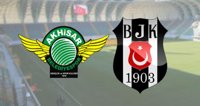 Beşiktaş şampiyonluk yolunda Akhisar deplasmanında