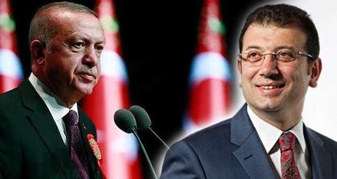 Erdoğan ile İmamoğlu aynı kongrede
