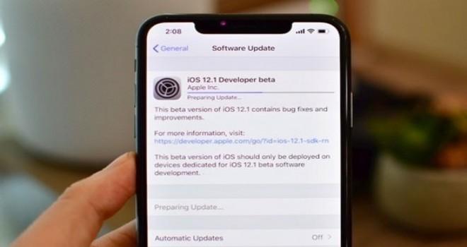 iPhone yeni güncellemesinde mobil veri sorunu hatası