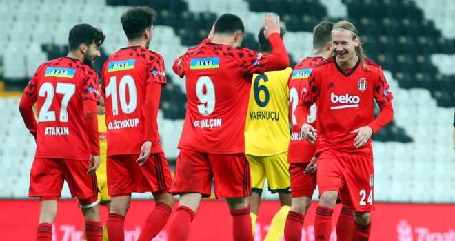Beşiktaş'tan gol yağmuru! Kartal Son 16 Turu'na yükseldi