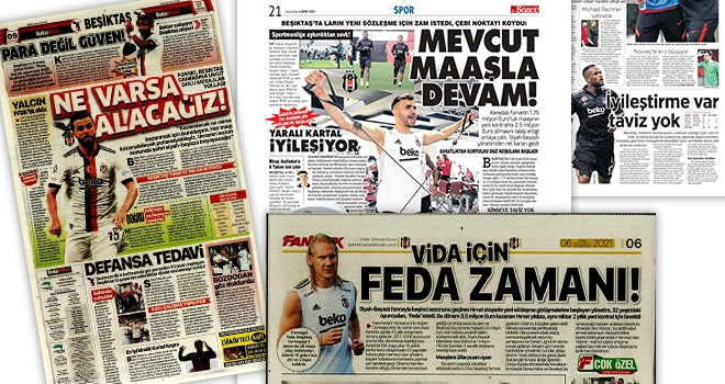 Manşetlerle Beşiktaş (6 Ekim)