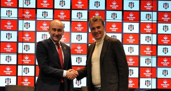 Bahçeşehir Koleji'nden Beşiktaş'a sponsorluk
