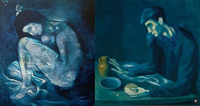 Picasso'nun 118 yıllık sırrı yapay zeka tarafından ortaya çıkarıldı