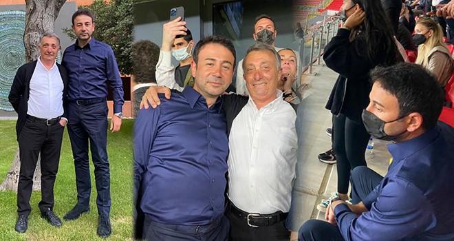 Başkan Akpolat Şampiyon Beşiktaş'ı İzmir'de izledi ve Twitter'ı salladı!..