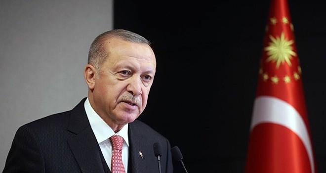 Cumhurbaşkanı Erdoğan'dan Kıbrıs Barış Harekatı'nın 46. yılı için mesaj