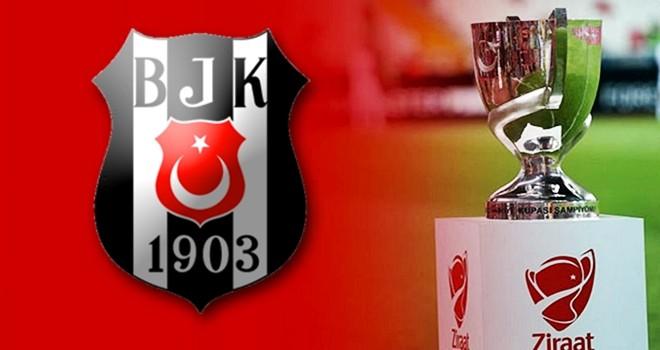 Ziraat Türkiye Kupası'nda Beşiktaş'ın rakibi belli oldu
