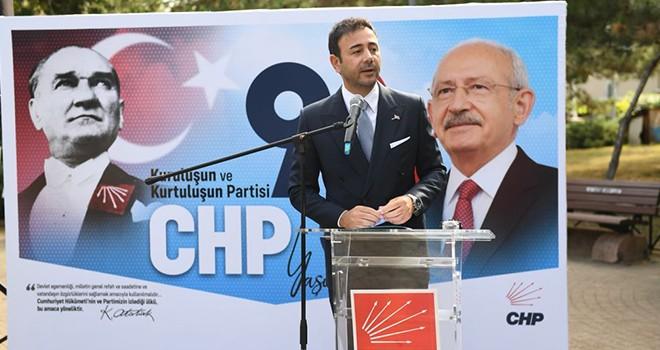 Başkan Akpolat, CHP'nin  98'inci kuruluş yıl dönümünü kutladı