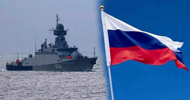Rusya'dan tehdit gibi açıklama! Savaş gemisi yola çıktı