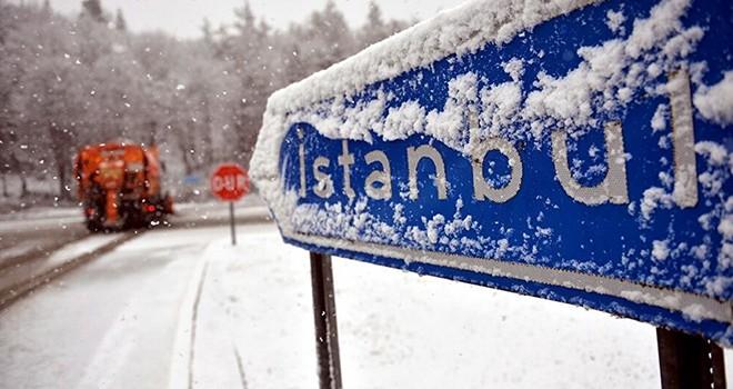 İstanbul'da karlı hava ne kadar sürecek?