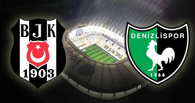 Beşiktaş - Denizlispor karşı karşıya