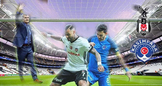 Vodafone Park'ta veda maçı Beşiktaş-Kasımpaşa