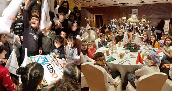 LÖSEV'de çocuklar 2020'ye merhaba dedi