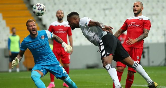Beşiktaş - Antalyaspor maç sonucu: 1-1