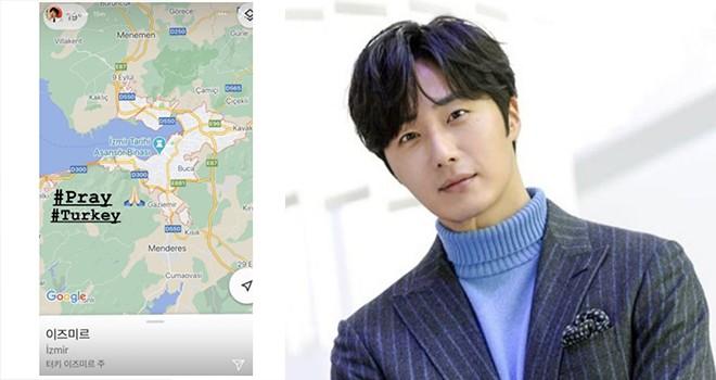 Aktör Jung Il-woo'dan İzmir depremi için paylaşım