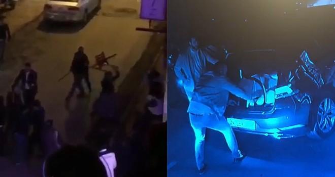 İki restoranın valeleri arasında silahlı kavga