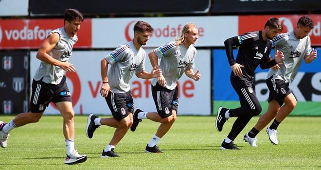 Beşiktaş  Antalyaspor maçına hazırlanıyor
