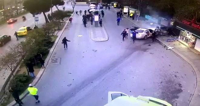 Beşiktaş'taki korkunç kazanın görüntüleri ortaya çıktı