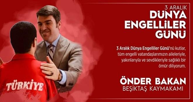 Kaymakam Önder Bakan'dan Engelliler Günü mesajı