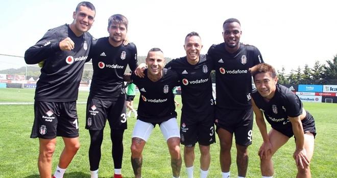 Beşiktaş, Galatasaray maçına hazırlanıyor