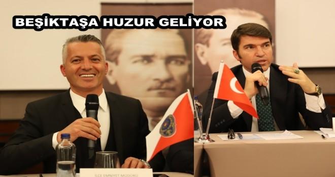 Ortak çalışmalara başladık.Kaymakamlık ve Emniyet haberleri Beşiktaş Medya Grup'ta. Huzur toplantıları başladı
