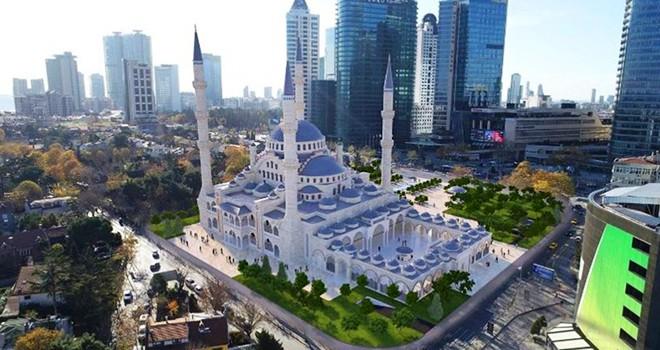 Levent'in ortasına Süleymaniye Camii geliyor
