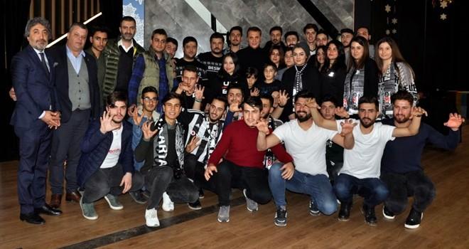 Fikret Orman, Beşiktaşlı üyelerle buluştu