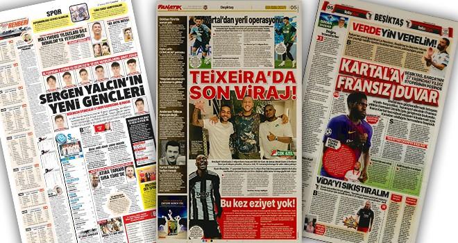 Manşetlerle Beşiktaş (3 Temmuz)