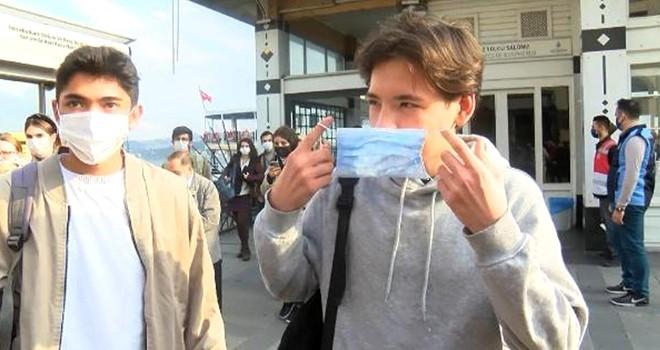 Beşiktaş'ta maske ve sigara yasağı denetimi