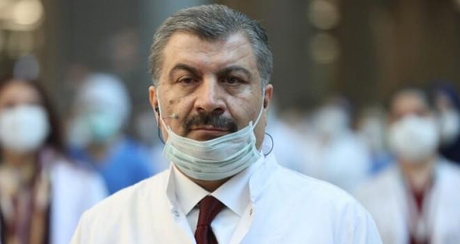 Sağlık Bakanı Koca'dan flaş maske uyarısı