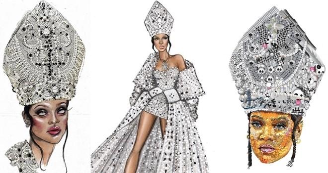 Rihanna sanatçılara ilham oldu