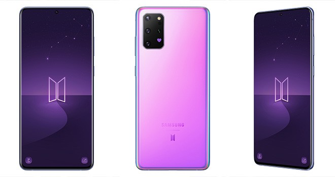 Samsung'dan BTS özel serisi