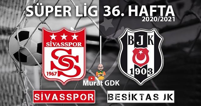 FIFA 21 - PES 2021'de Sivasspor - Beşiktaş karşılaşması