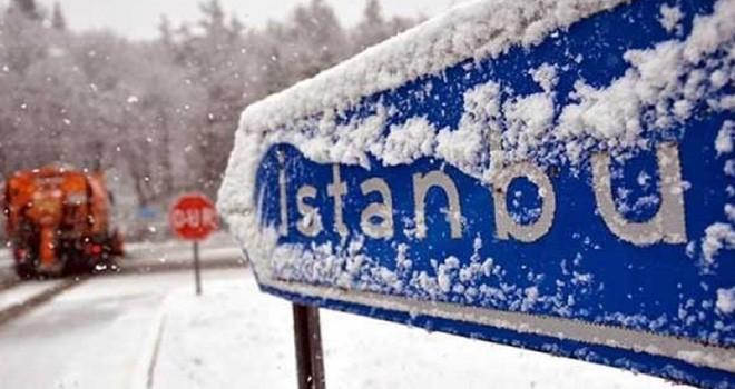 Sibirya soğukları İstanbul'a giriyor! Kar kapıda