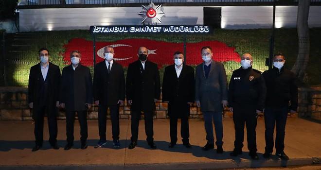 İl Emniyet Müdürü Zafer Aktaş'tan Beşiktaş İlçe Emniyet Müdürlüğü'ne ziyaret