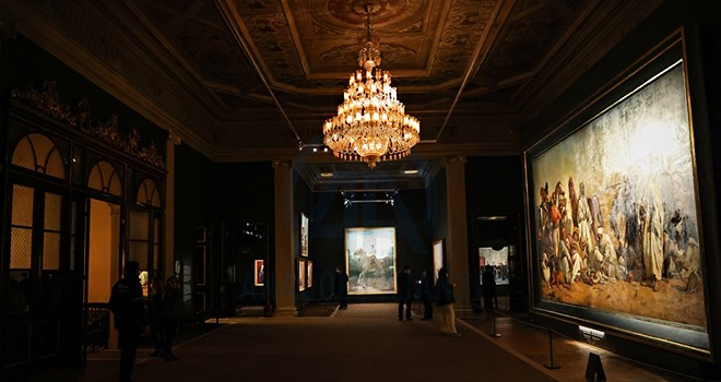 Milli Saraylar Resim Müzesi'ne yoğun ilgi
